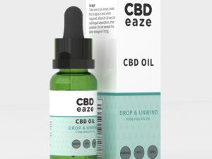 CBD Oil, Isolate CBD 40%, CBDEaze
