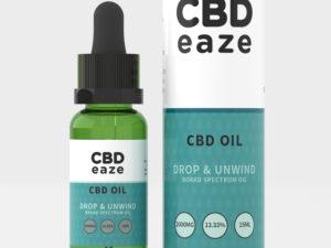 CBDEaze, CBD Oil, Oil, 2000mg