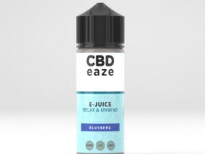 CBDVape, CBD E-liquid, Blueberg, 2500mg 100ml