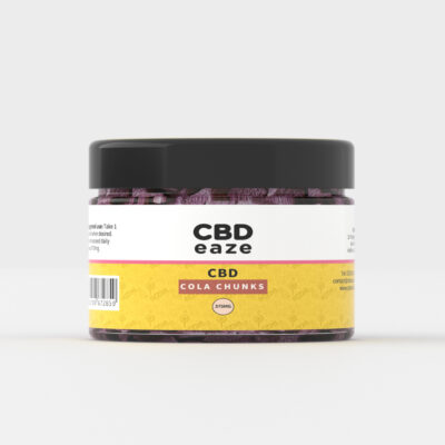 CBDEaze cola chunks, edibles, cbd infused