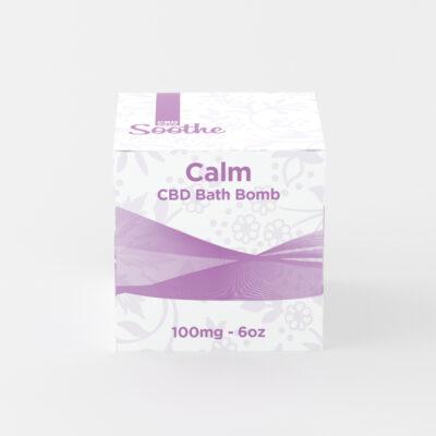 CBDEaze, Bath Bomb, Calm